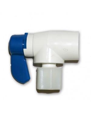 1/4 FIPX 1/4 OD Elbow ballvalve-Kran Storage Tank (KFV1490W)