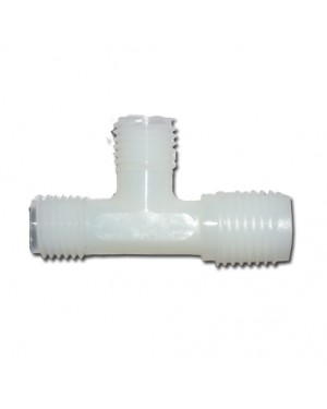 "1/4"" Union Tee With Nut X2 (7544/N)"