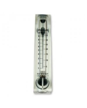 Flowmeter 10 GPM Panel