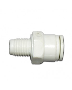 """1/4""""X1/8"""" Male Connector """"Speed Fitting"""" (10Q4M2)"""