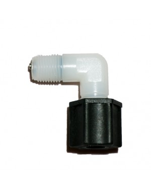 "Check Valve JACO FITTING 1/4""FIP,Plastic (4042/E)"
